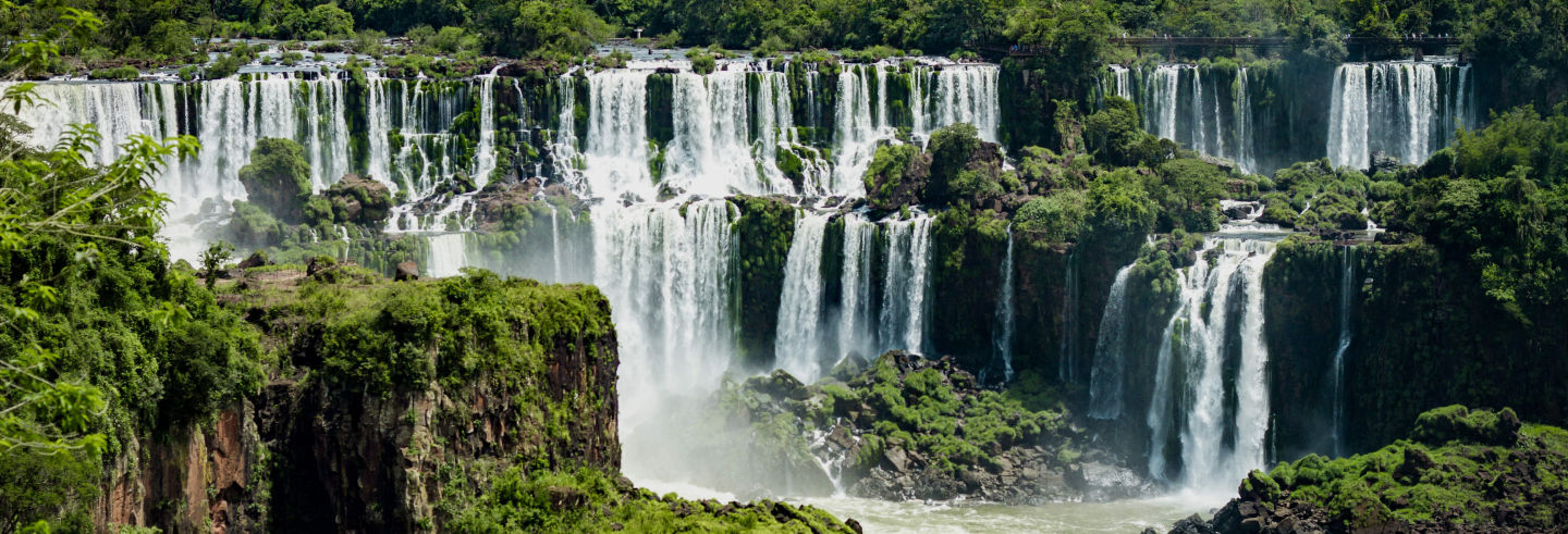 Ingresso das Cataratas do Iguaçu (lado brasileiro)