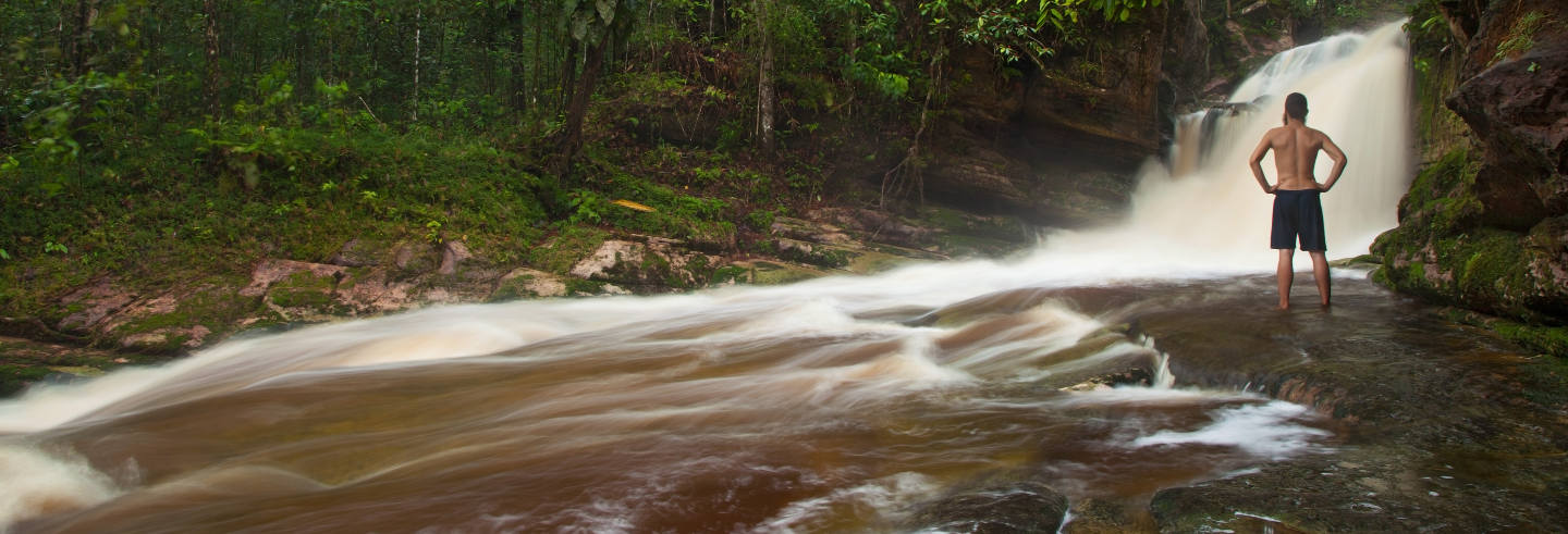 Excursión a las cataratas amazónicas
