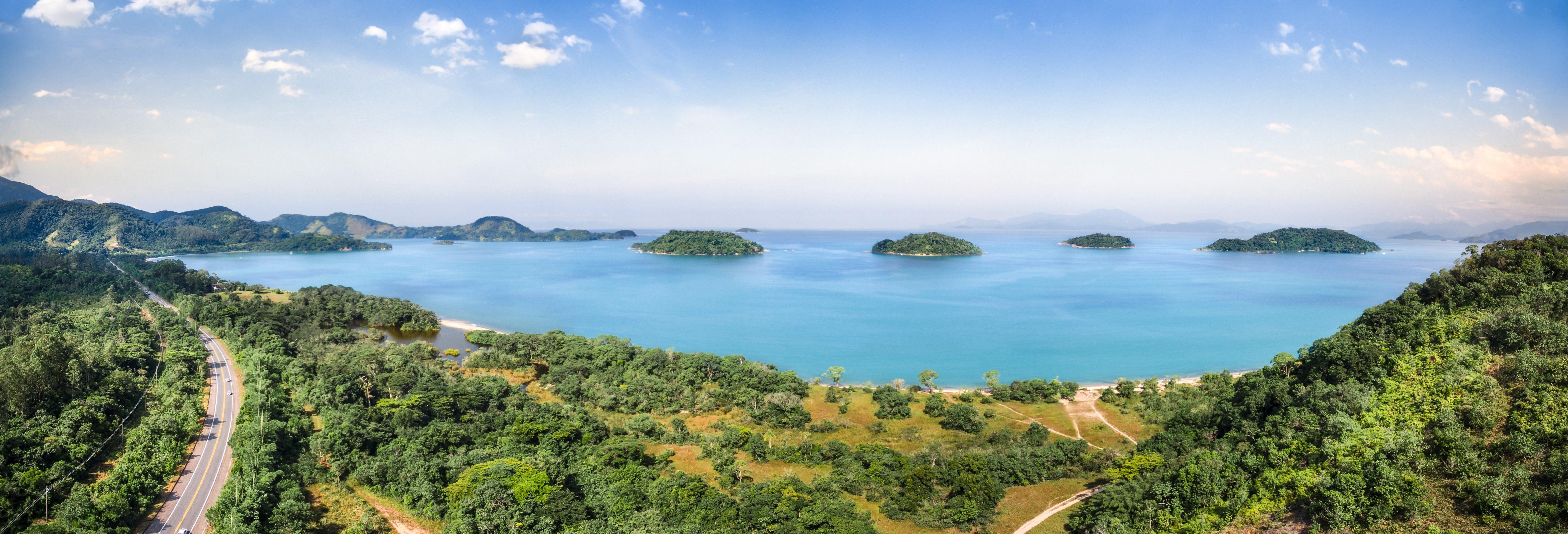 Excursão às ilhas de Paraty