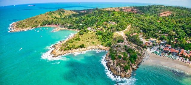 Excursión a las playas del Cabo Santo Agostinho