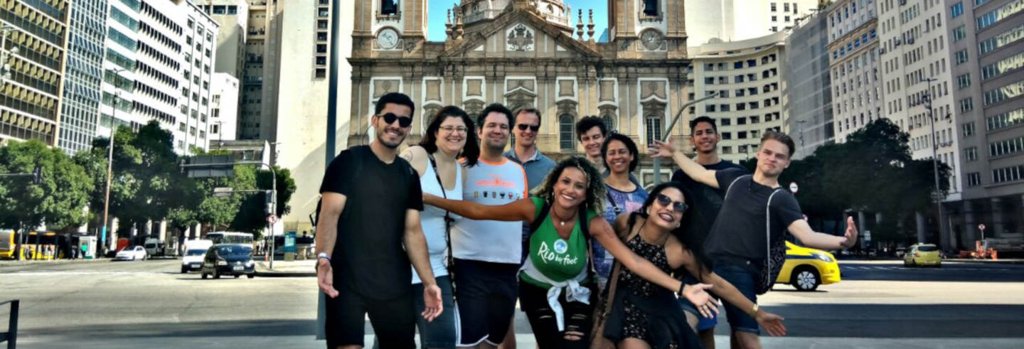 Rio Historic Centre and Lapa Neighbourhood Free Tour