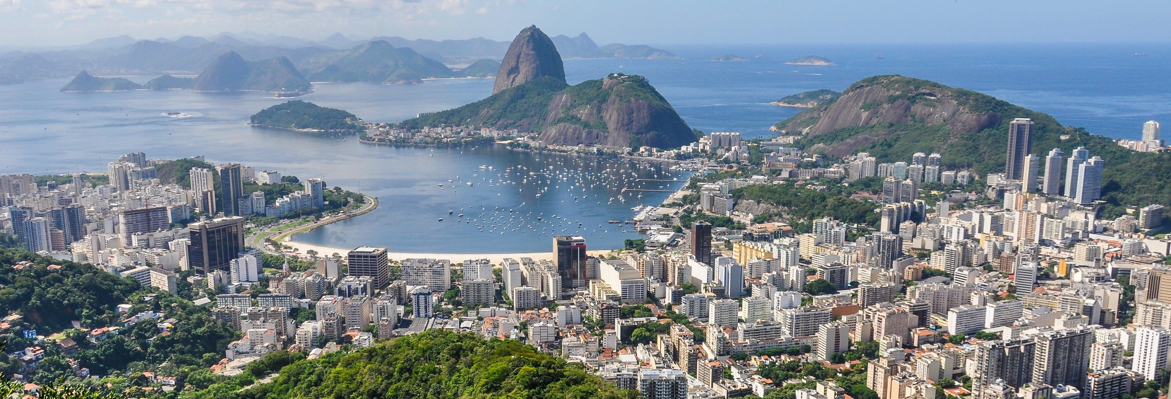 Giro in elicottero a Rio de Janeiro