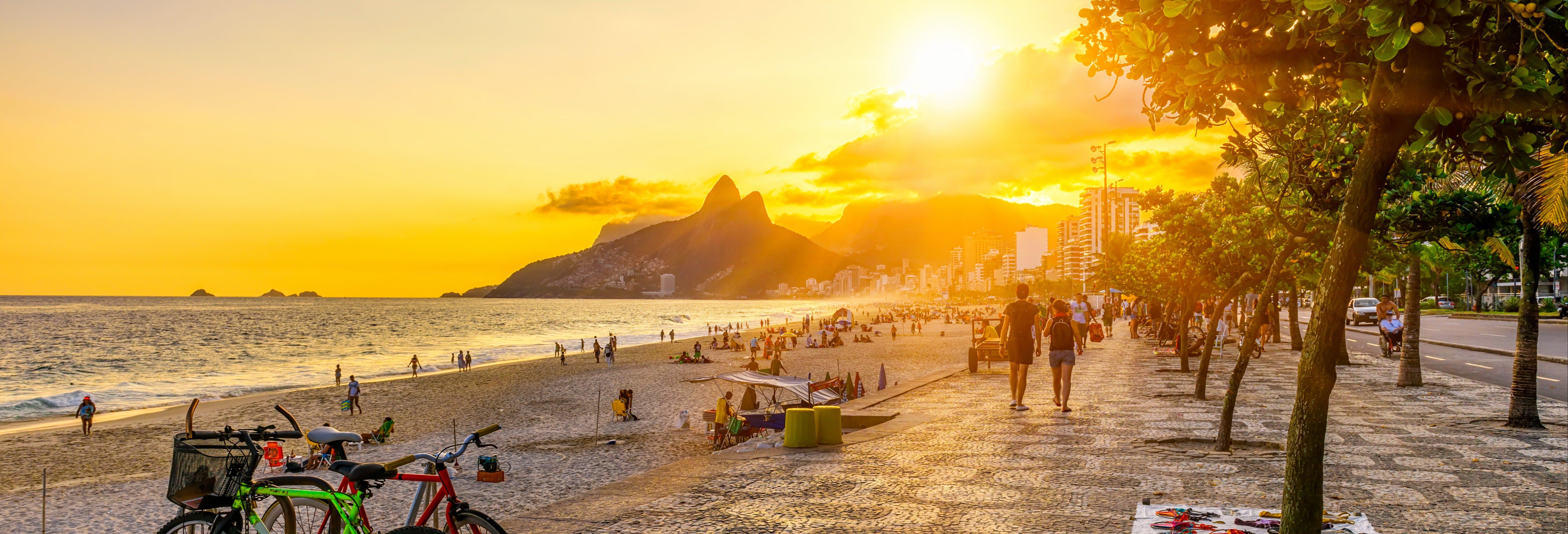 Balade à vélo dans Rio