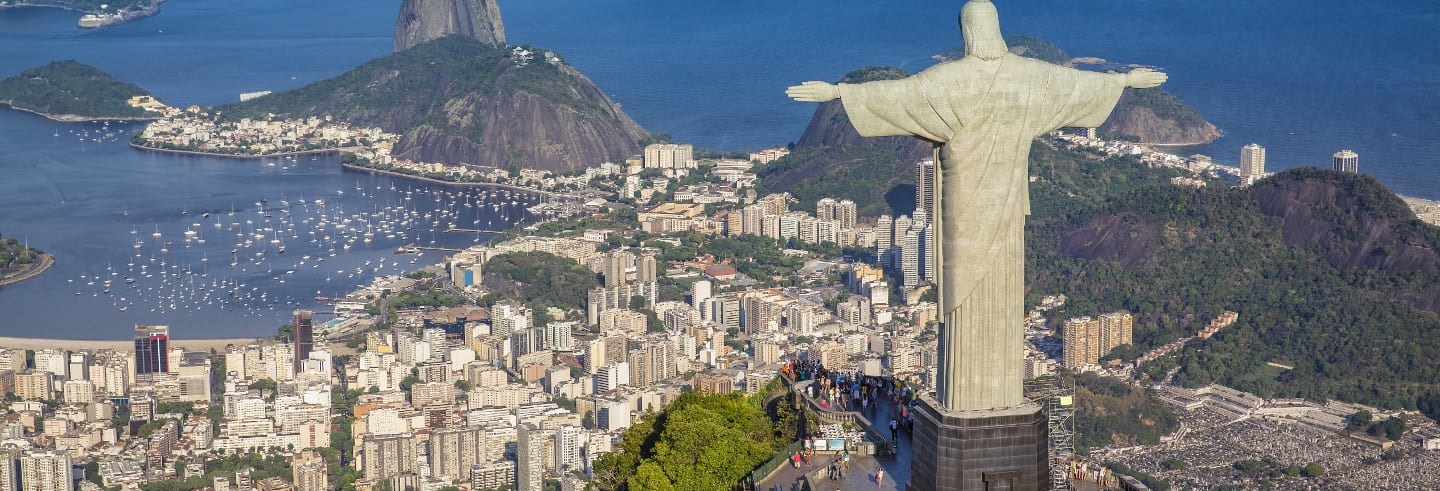 Christ the Redeemer by Train and Rio Tour