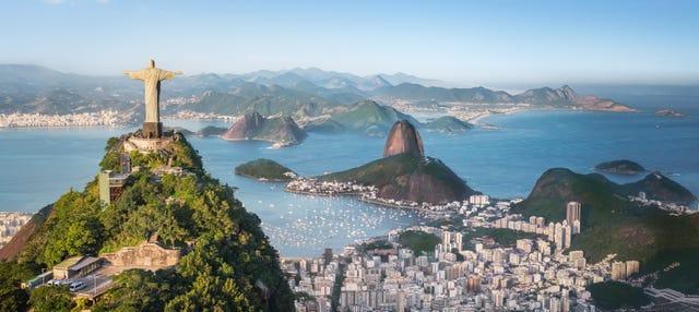 Cristo Redentor en minibús + Tour por Río