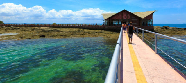 Excursão às ilhas de Salvador