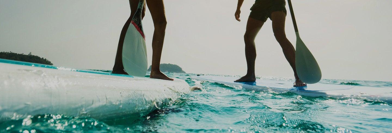 Paddle surf en Porto da Barra
