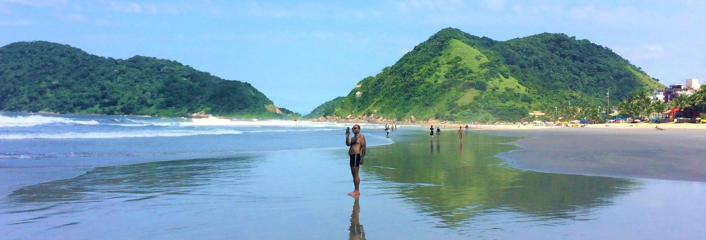 Excursão privada às praias do Guarujá