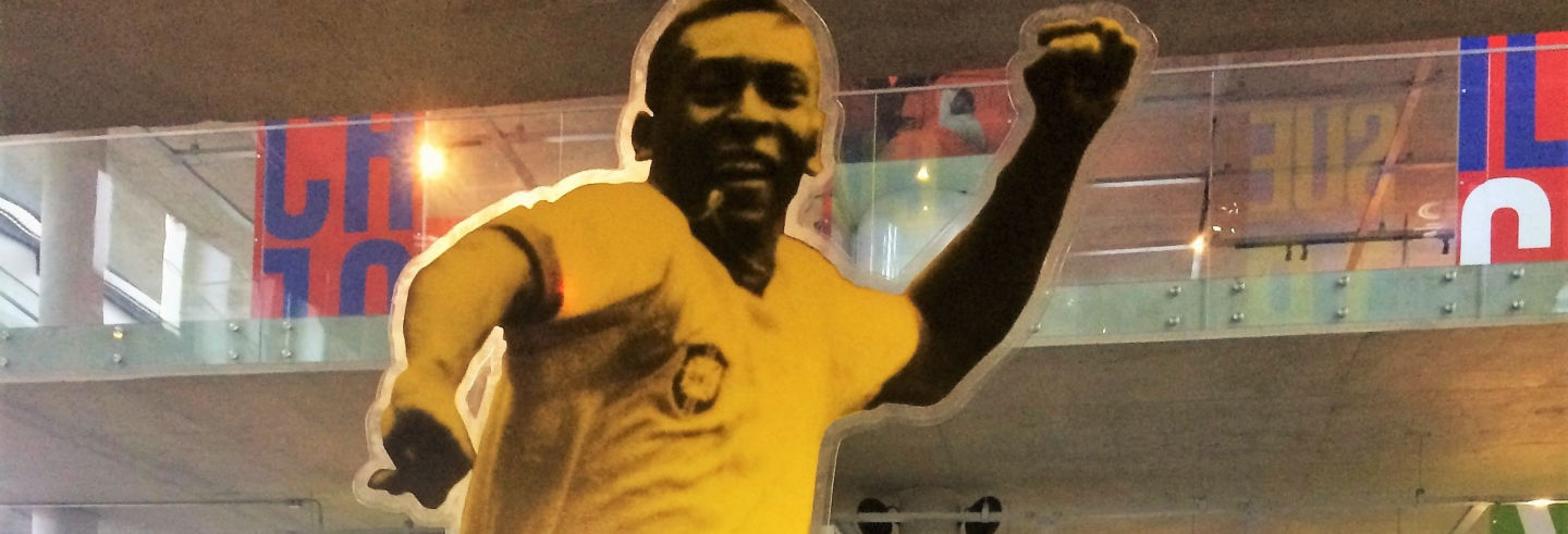Tour privado do Pelé em Santos