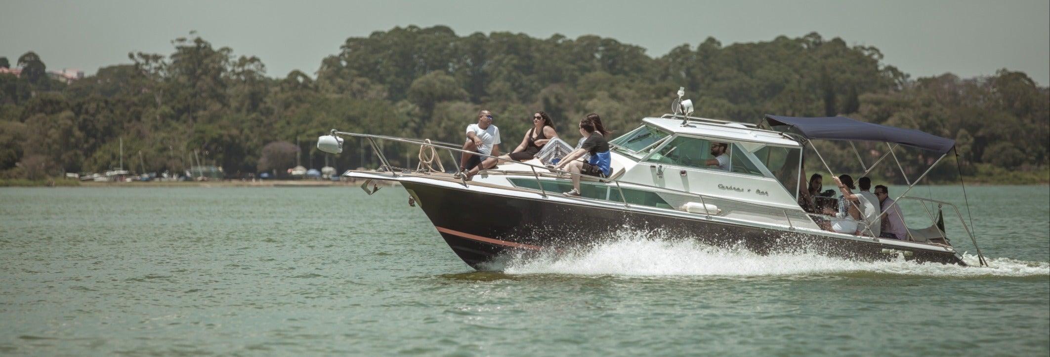 Paseo en barco privado por Sao Paulo
