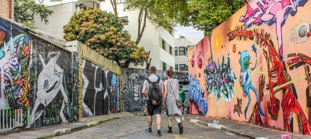 Tour de bares y arte urbano por Vila Madalena
