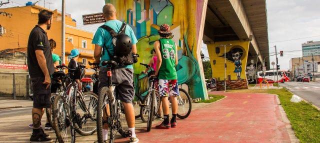 Tour de street art de bicicleta