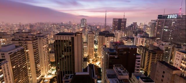 Tour noturno privado por São Paulo