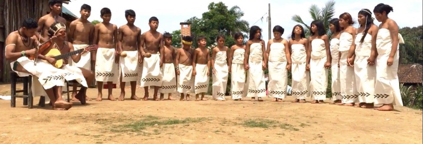 Visita à tribo guarani Tenondé Porã