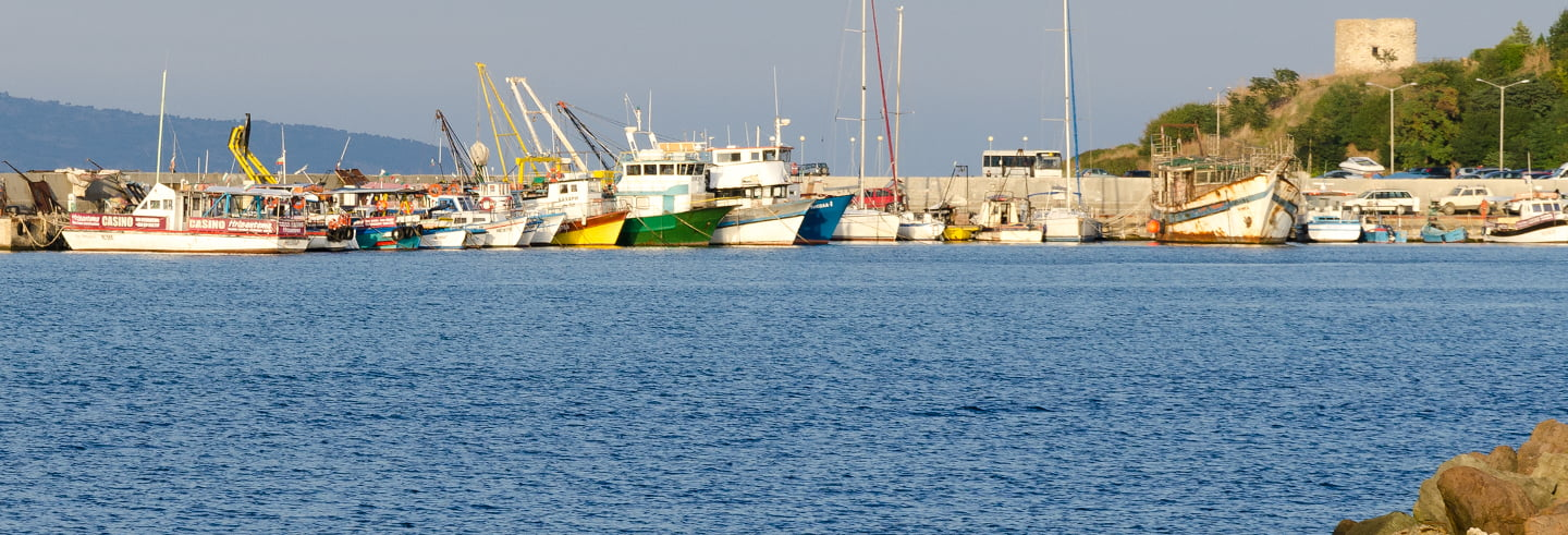 Crucero por las bahías de Nesebar