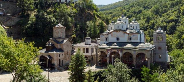Excursion aux monastères de Bulgarie et de Macédoine du Nord