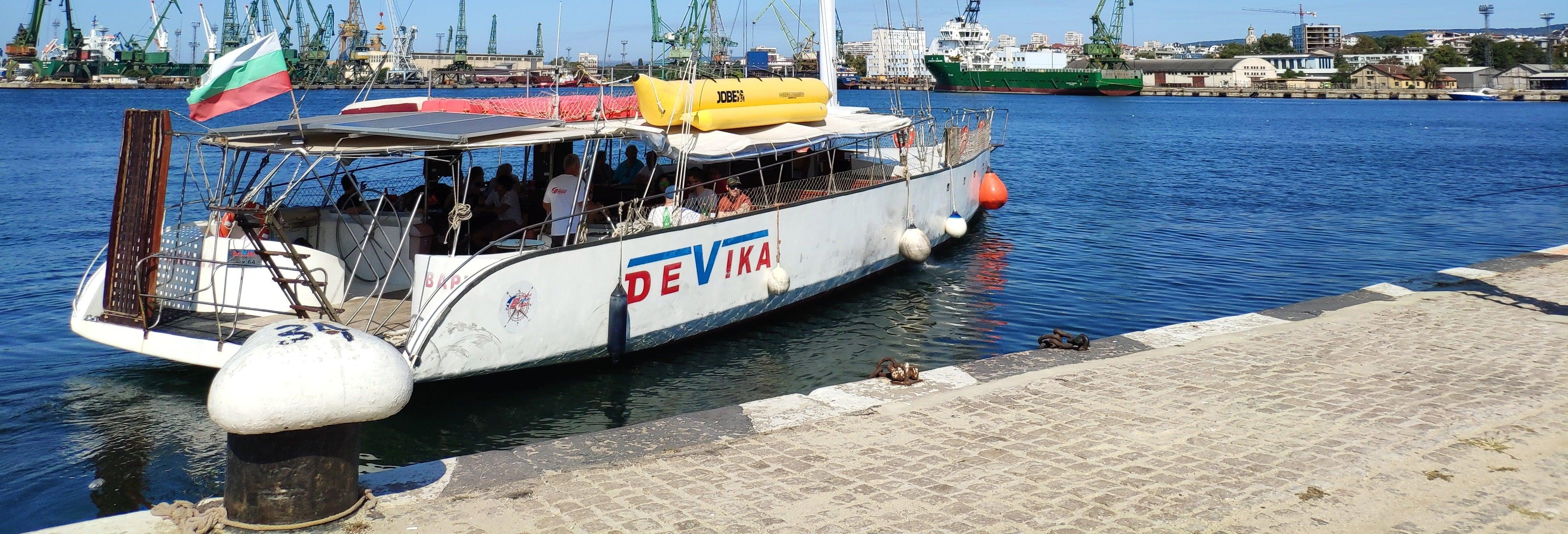 Paseo en yate por Varna