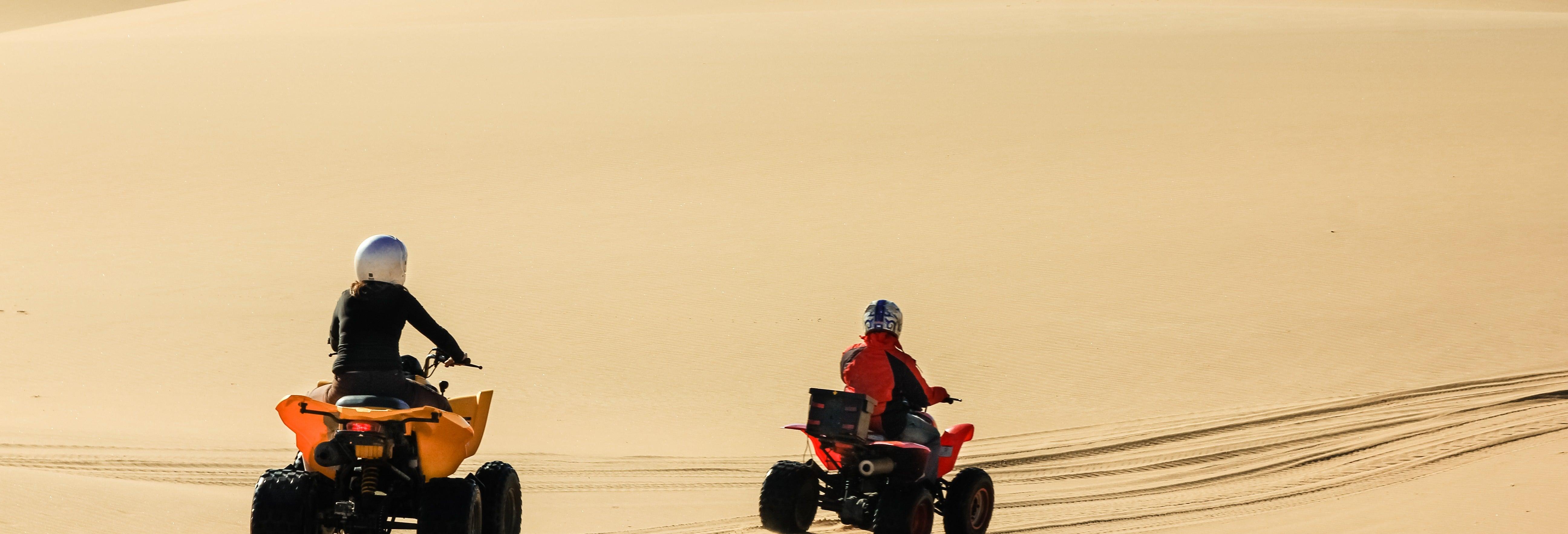 Tour de quadriciclo pelo deserto de Viana e Cabo de Santa Maria