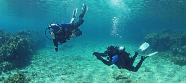 Batismo de mergulho na Ilha do Sal