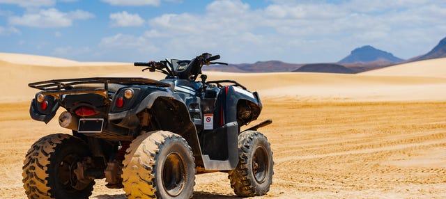 Tour de quadriciclo pela Ilha do Sal