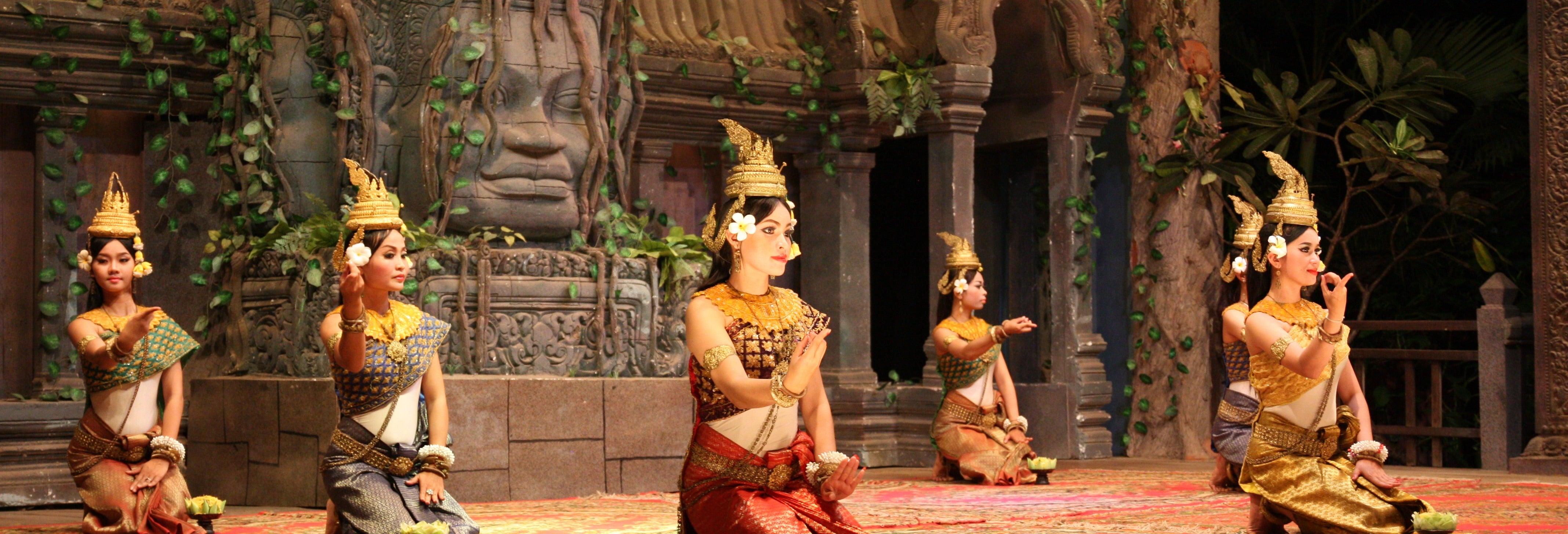 Jantar e espetáculo de dança Apsara