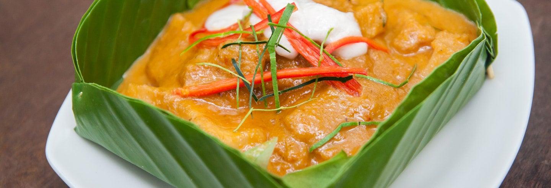 Aula de cozinha cambojana