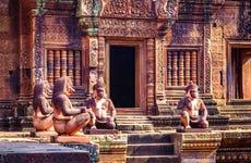 Excursión a Banteay Srei y Preah Khan
