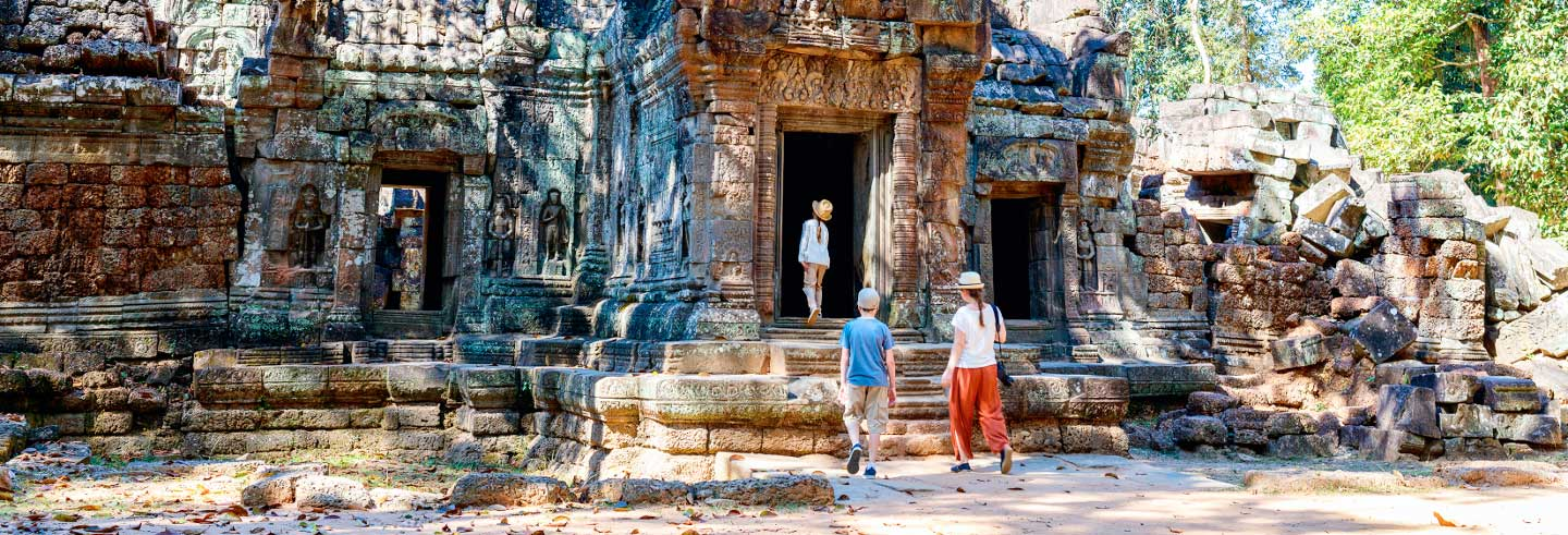 Tour pelos templos de Angkor