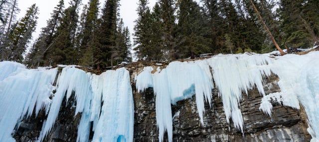 Excursion aux cascades gelées du Johnston Canyon