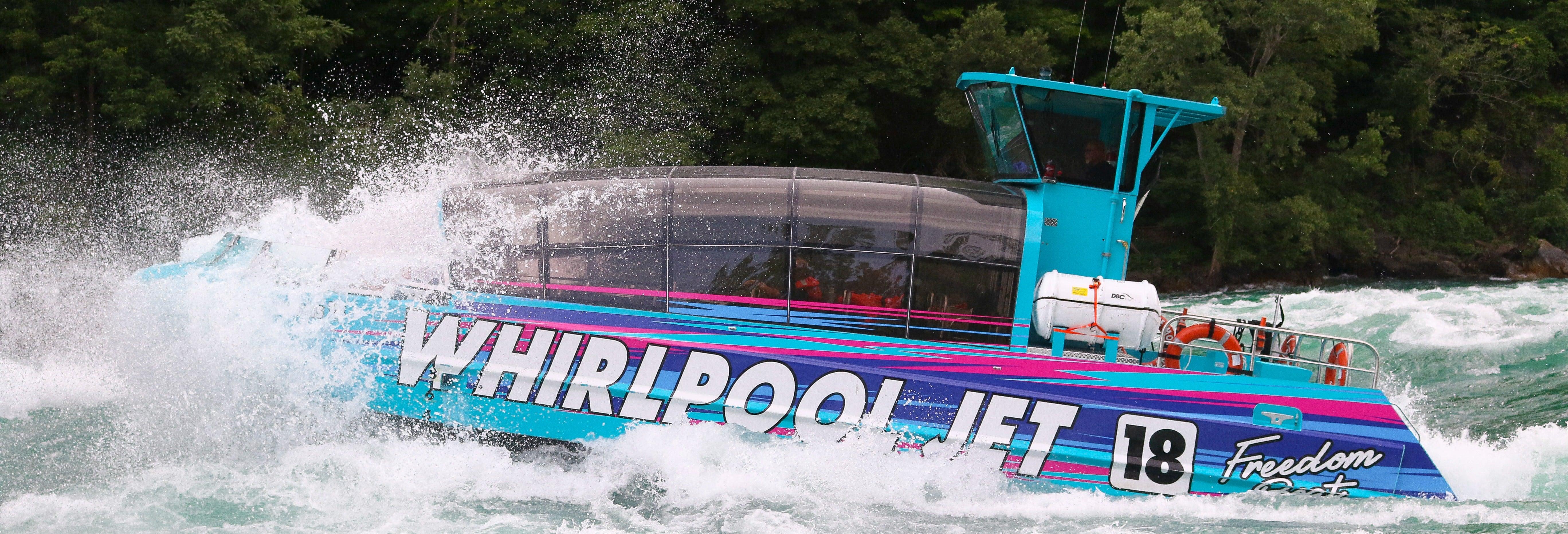 Giro sul fiume Niagara in motoscafo