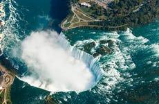Paseo en helicóptero sobre las Cataratas del Niágara