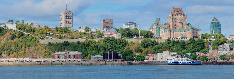 Excursion à Québec + Balade en bateau