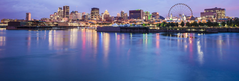 Balade en bateau à Montréal au coucher de soleil