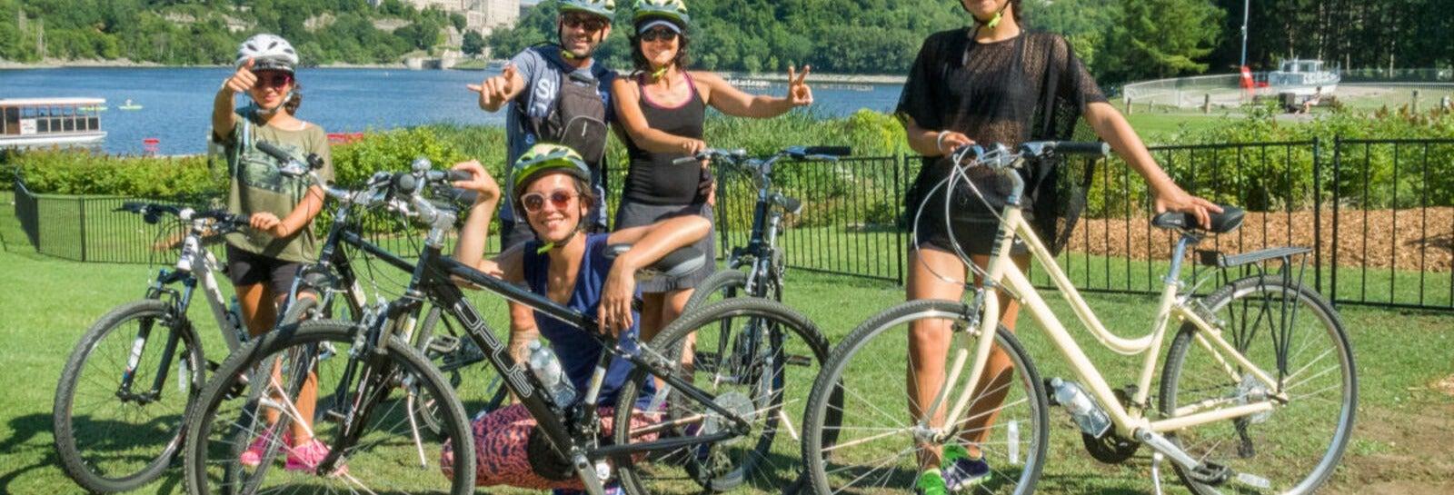 Visite à vélo dans Ottawa