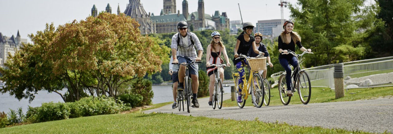 Tour privado en bicicleta por Ottawa