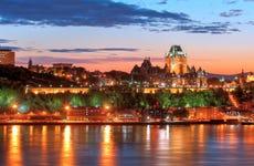 Paseo en barco al atardecer por Quebec