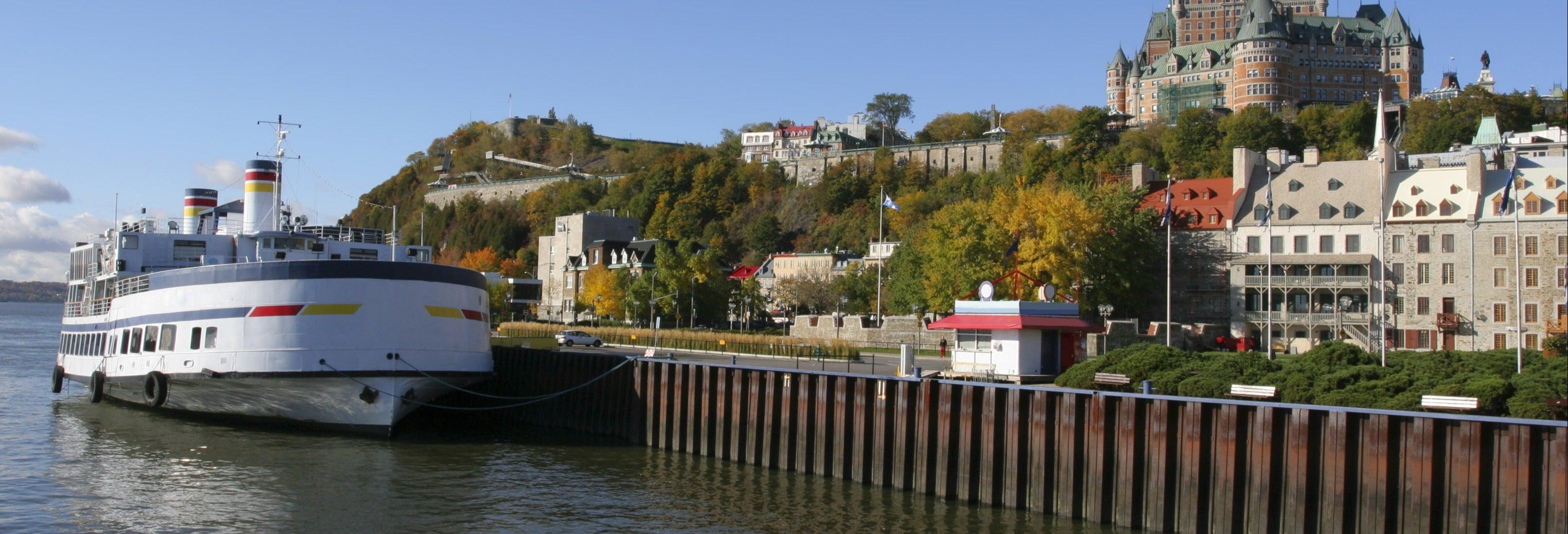 Passeio de barco por Quebec
