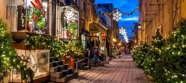 Tour navideño por Quebec