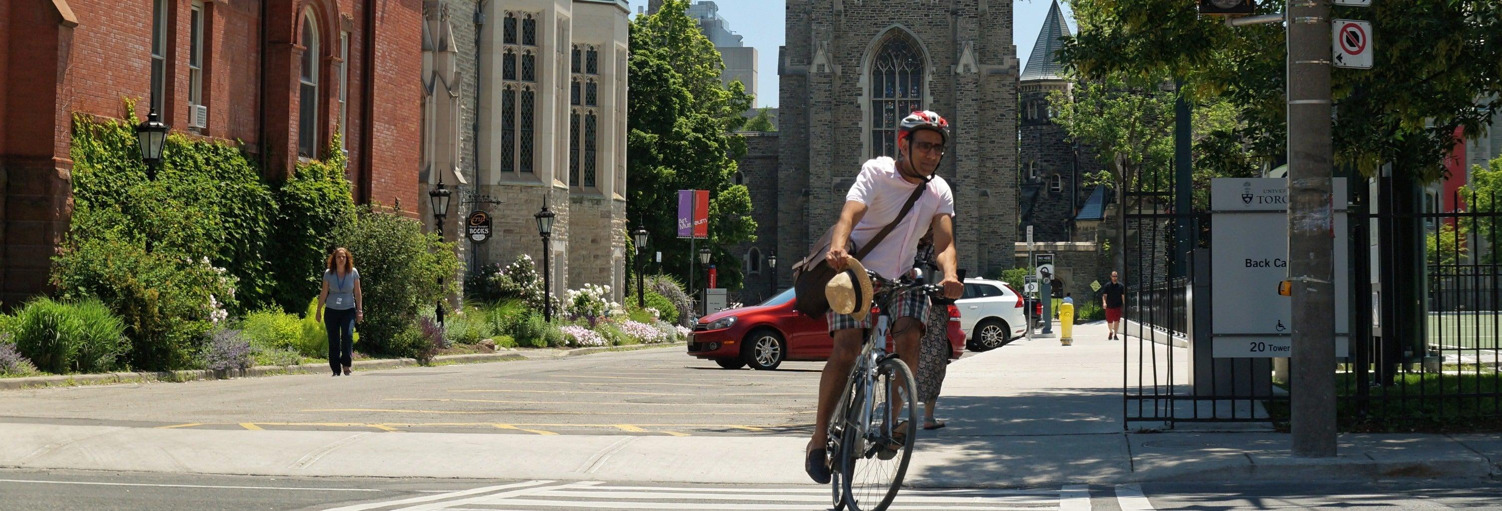 Tour privado por Toronto en bicicleta