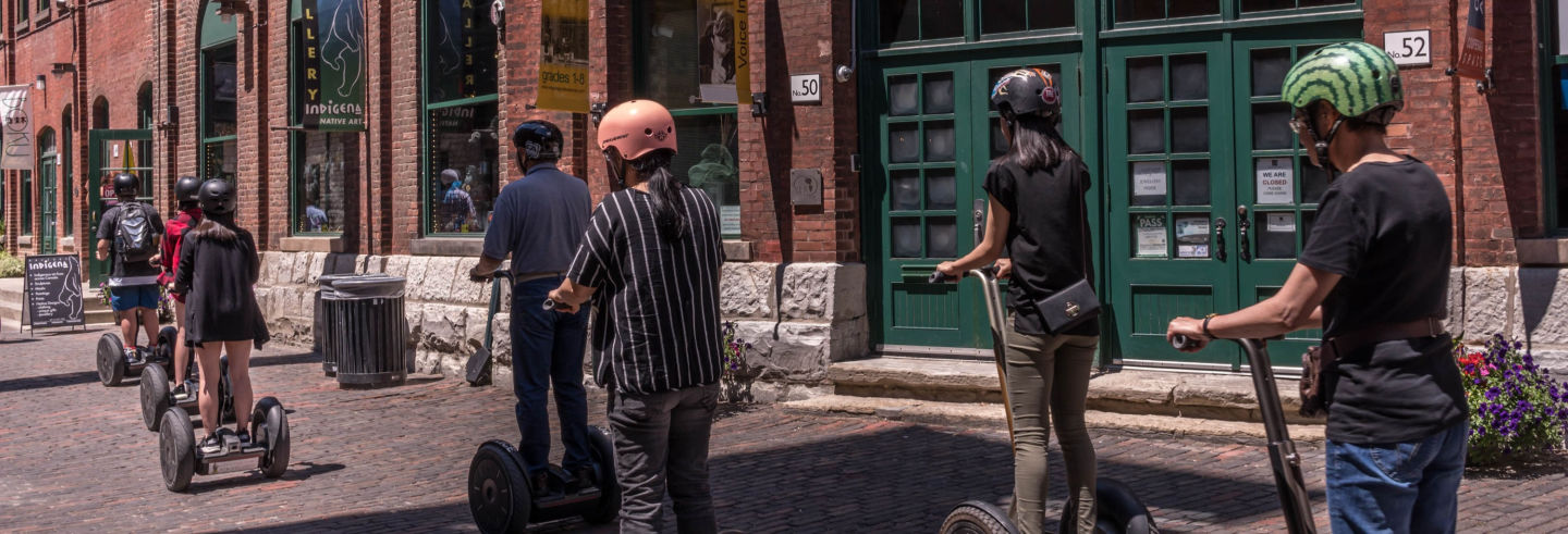 Tour en segway por el Distillery District