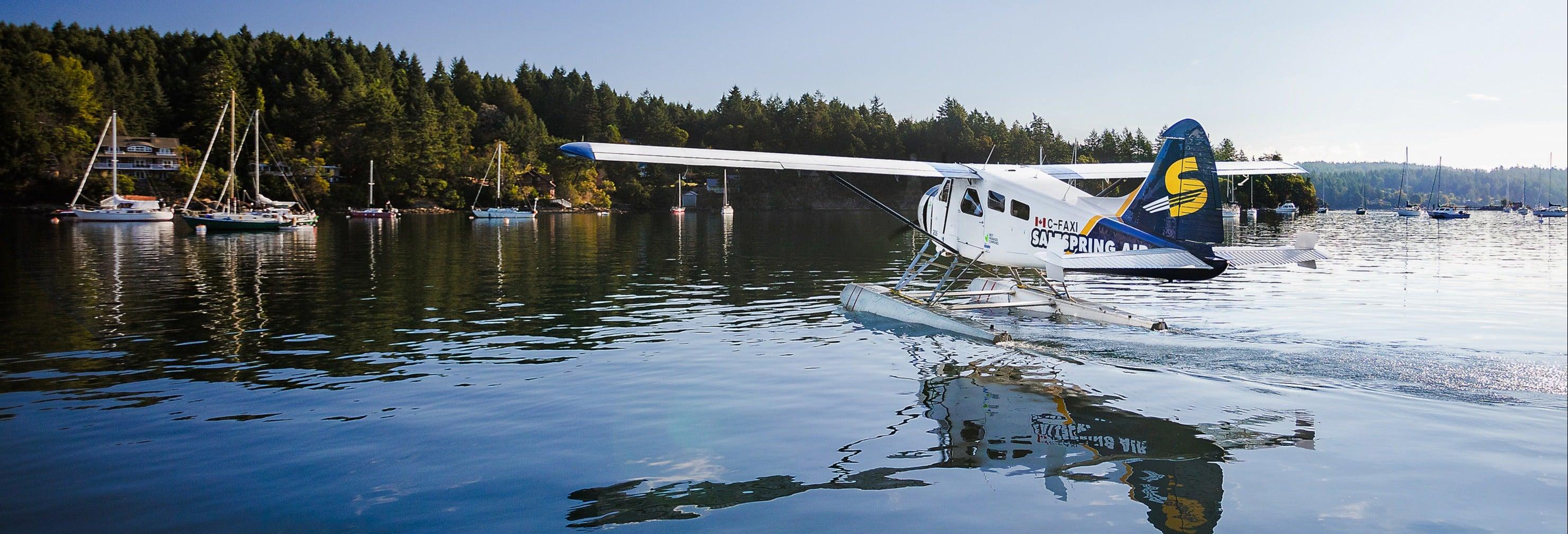 Seaplane Trip to the Gulf Islands + Kayaking