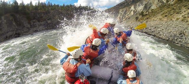 Rafting sur la rivière Elaho