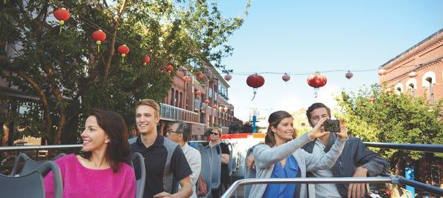 Bus touristique de Victoria