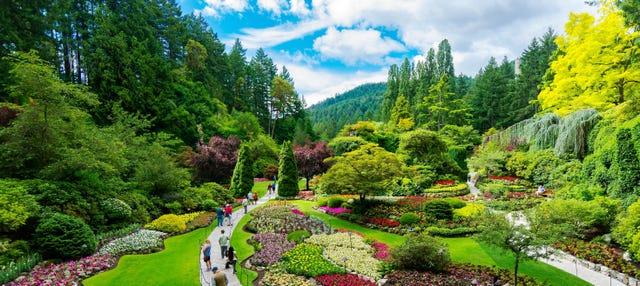 Excursion aux Jardins Butchart