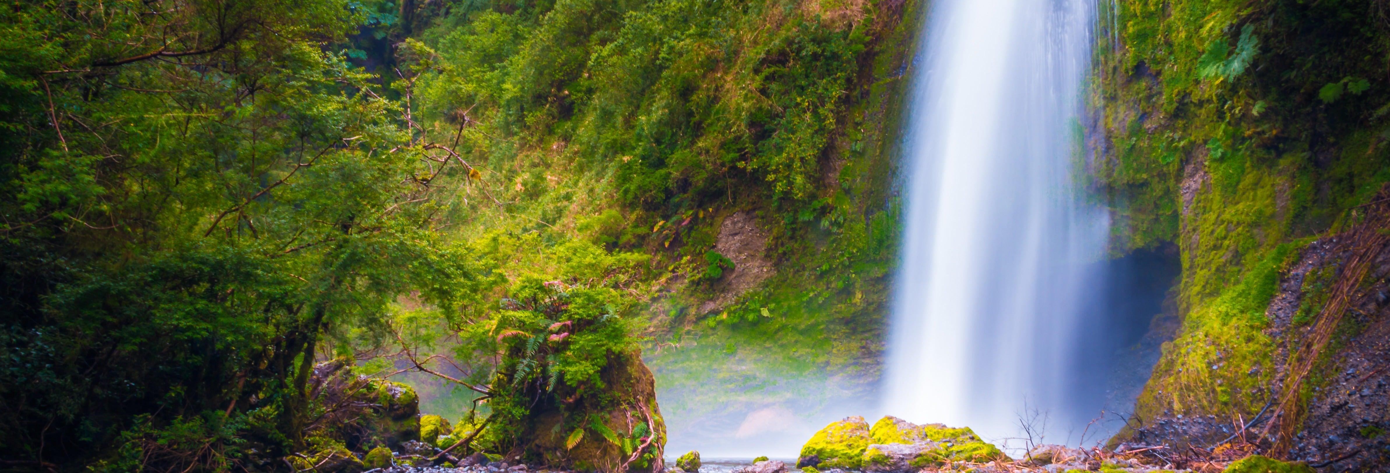 Parque Chaiguen, Aucar y cascadas de Tocoihue