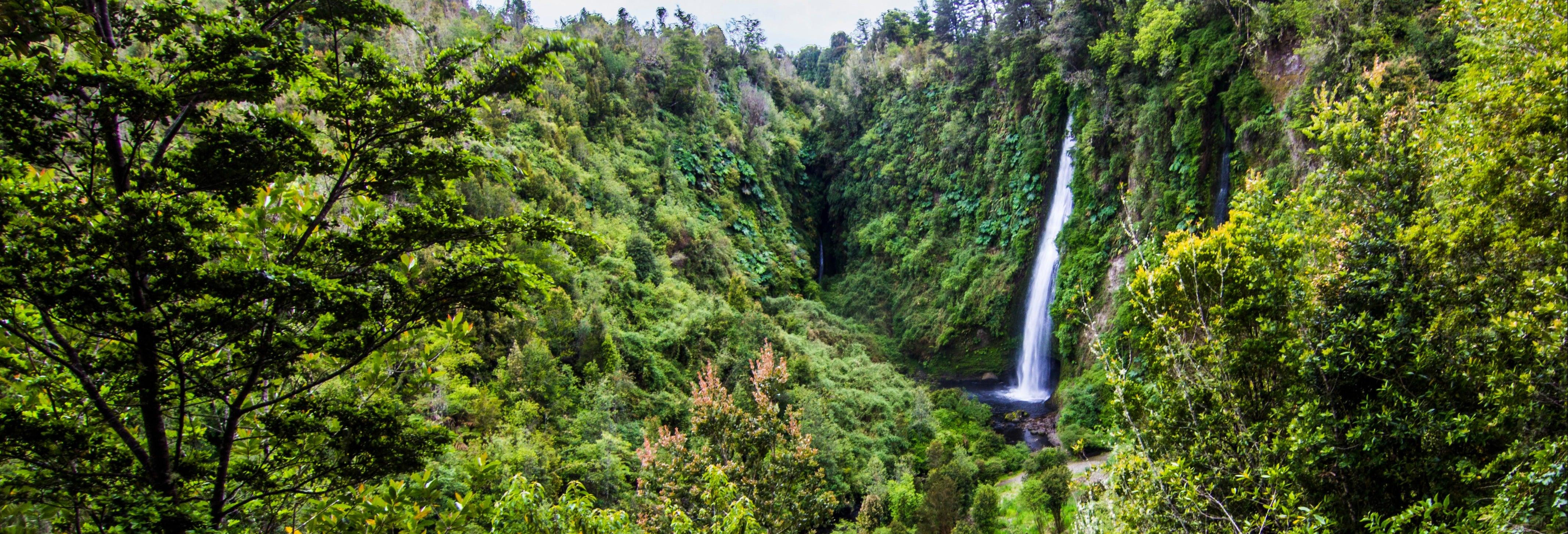 Parque Chaiguen, Aucar e cascatas de Tocoihue