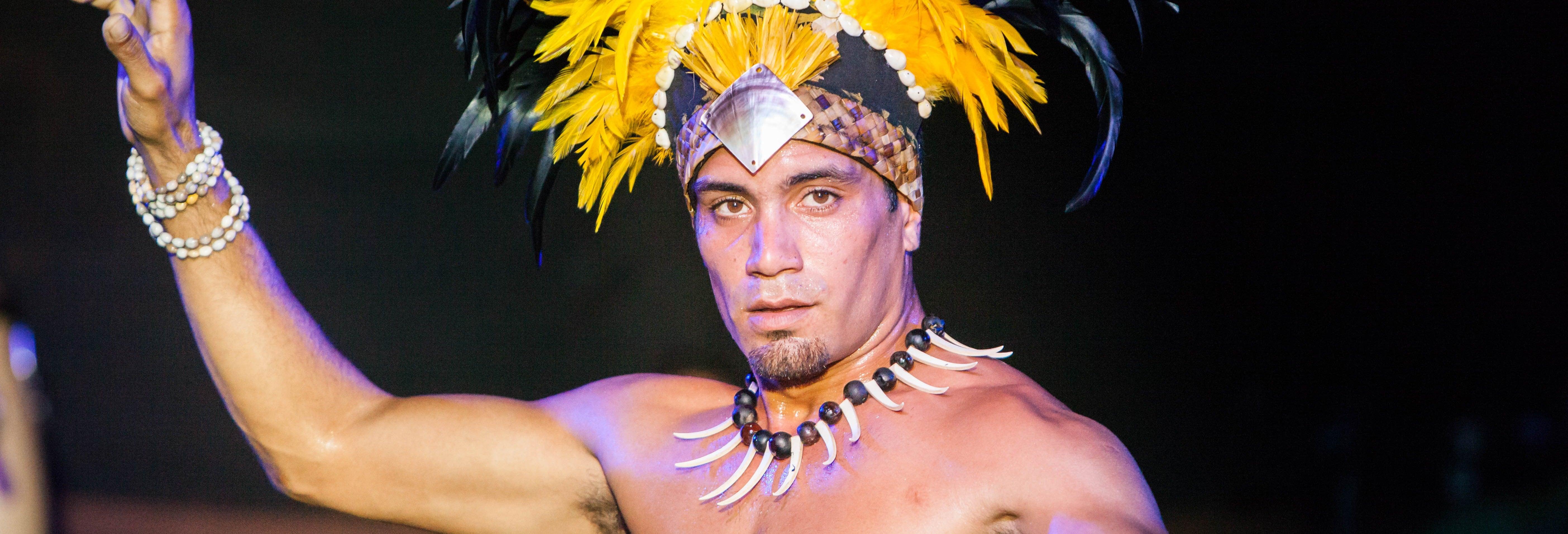 Cena y espectáculo tradicional rapanui