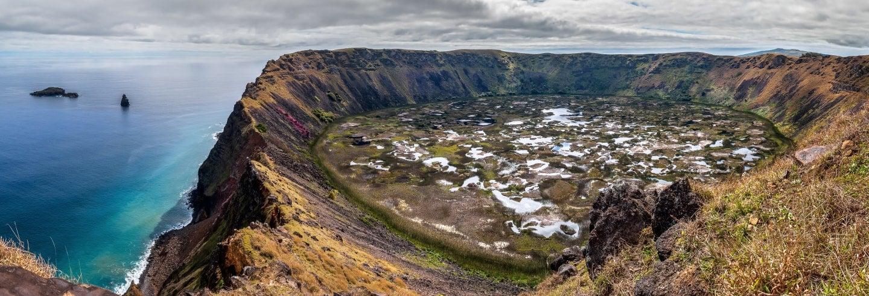 Tahai, Orongo y el volcán Rano Kau