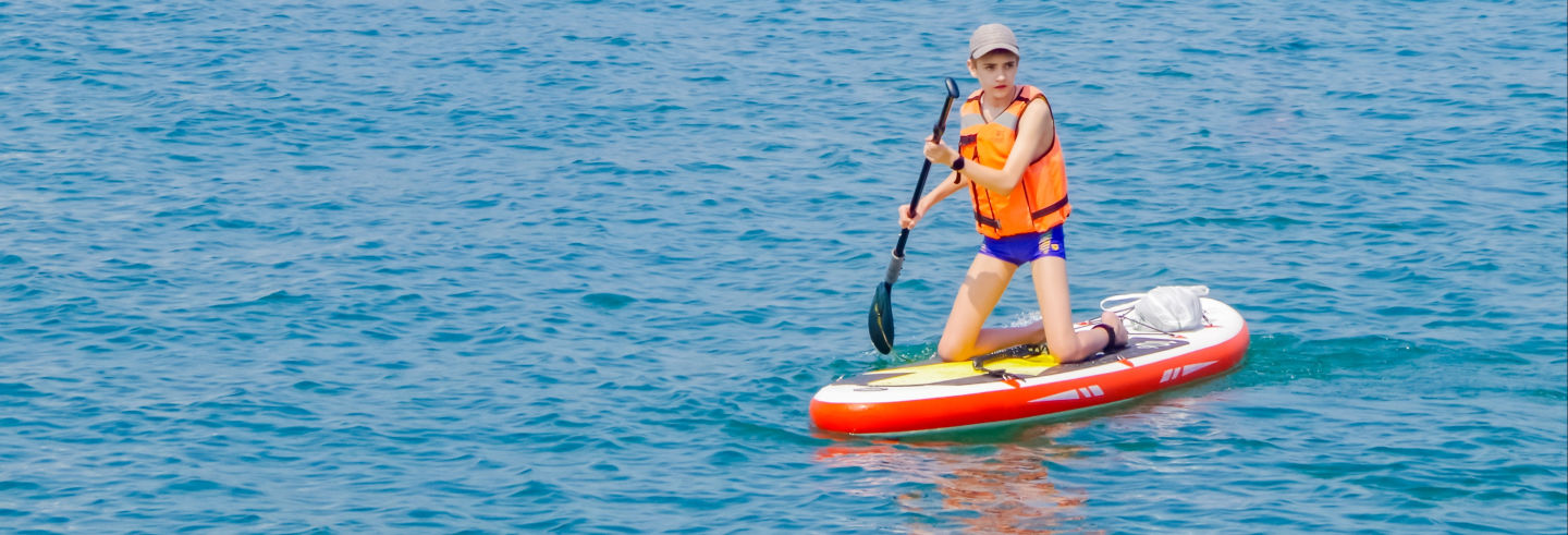 Curso de paddle surf en la laguna Silvia