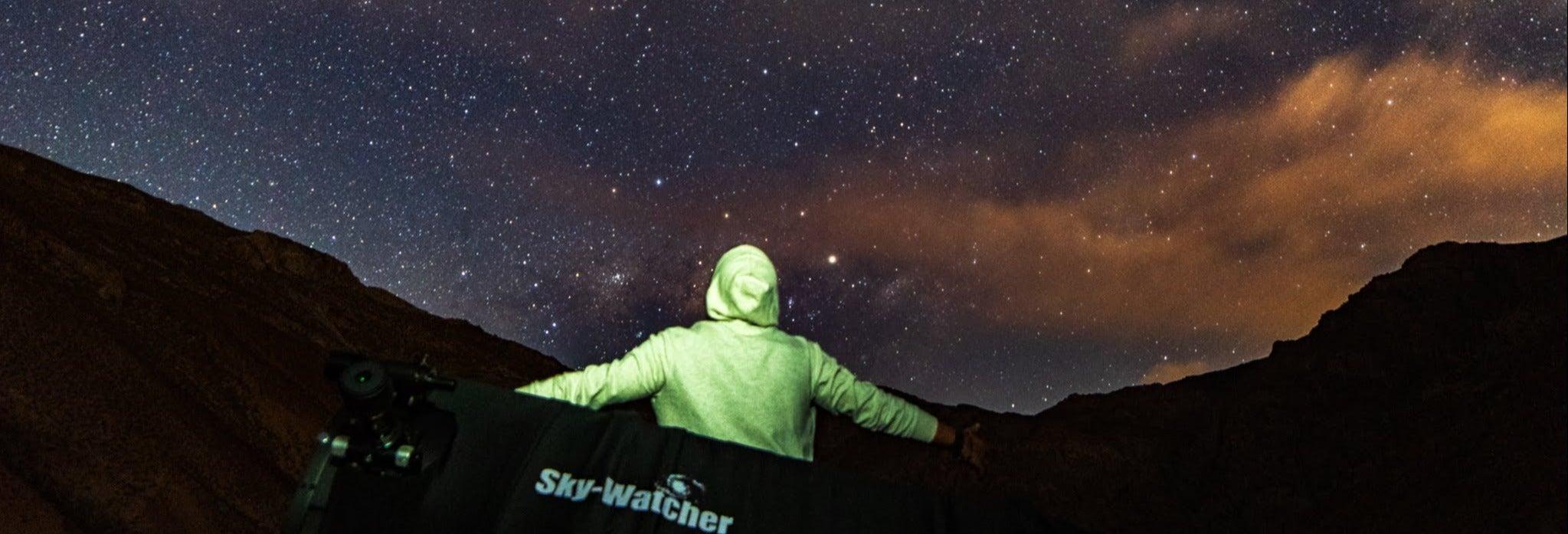 Observación de estrellas en el valle del Elqui
